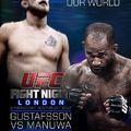 UFC Fight Night 37: Gustafsson vs Manuwa eredmények