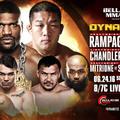 TD MMA: Bellator 157: Dynamite 2 élő közvetítés