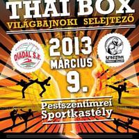 I. Thai Box Országos Bajnokság
