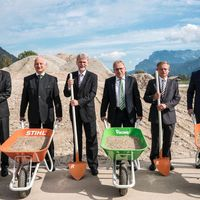 A STIHL új üzemet épít  Ausztriában.