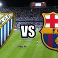 Spanyol bajnokság, 28. forduló: Málaga CF - FC Barcelona