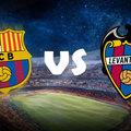 La Liga - 16. forduló - FC Barcelona vs. Levante UD