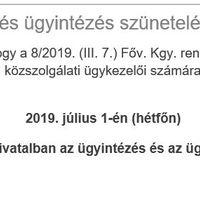 Köztisztviselők Napja 2019 július 1.