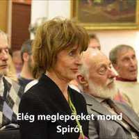 Spiró György a Budaörsi Olvasókörben