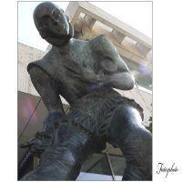 Shakespeare szobor a Dunakorzón
