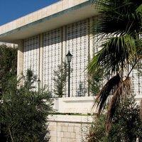 A parlament épülete Ammanban (Jordánia)