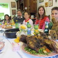 Húsvéti családi vacsora