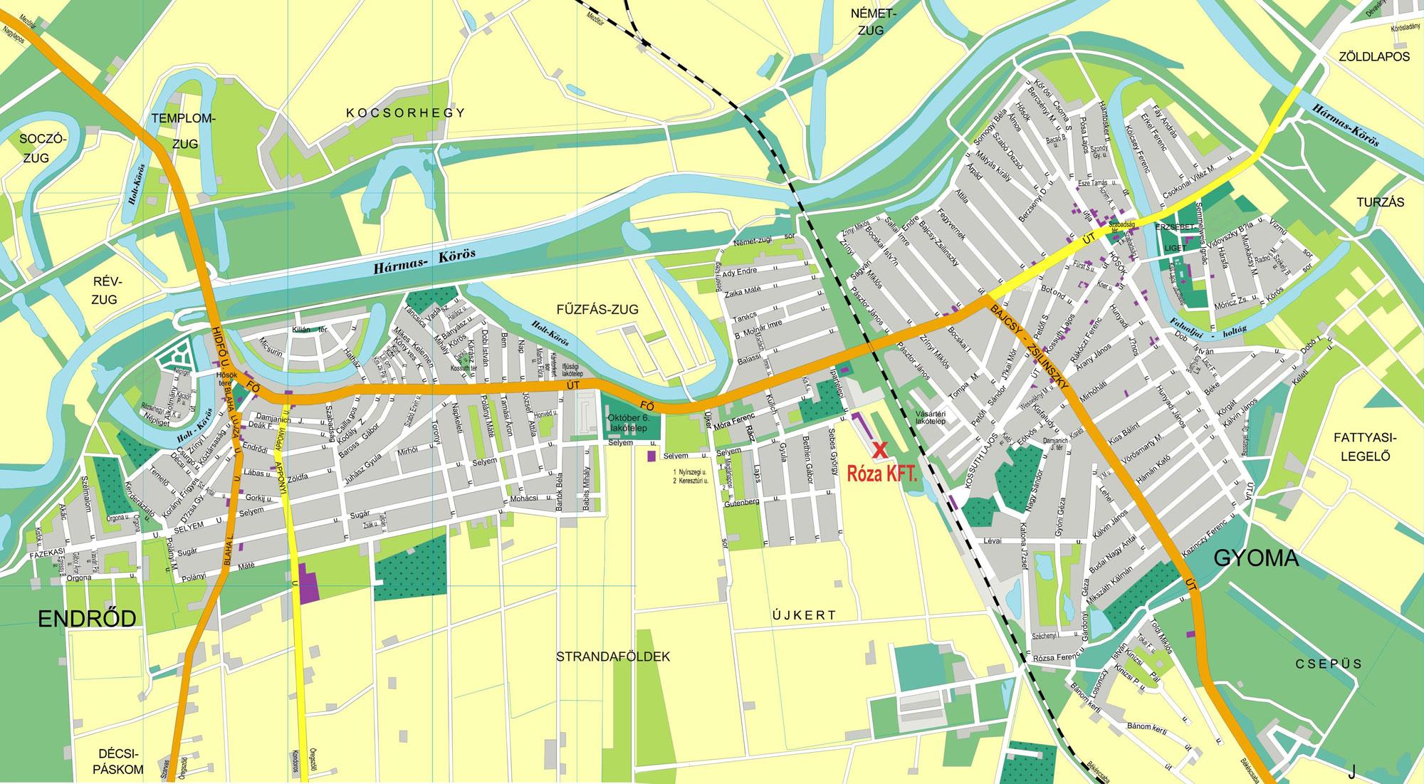 magyarország térkép gyomaendrőd Ifjúsági tábor Gyomaendrődön   A szavazatok erejével  magyarország térkép gyomaendrőd