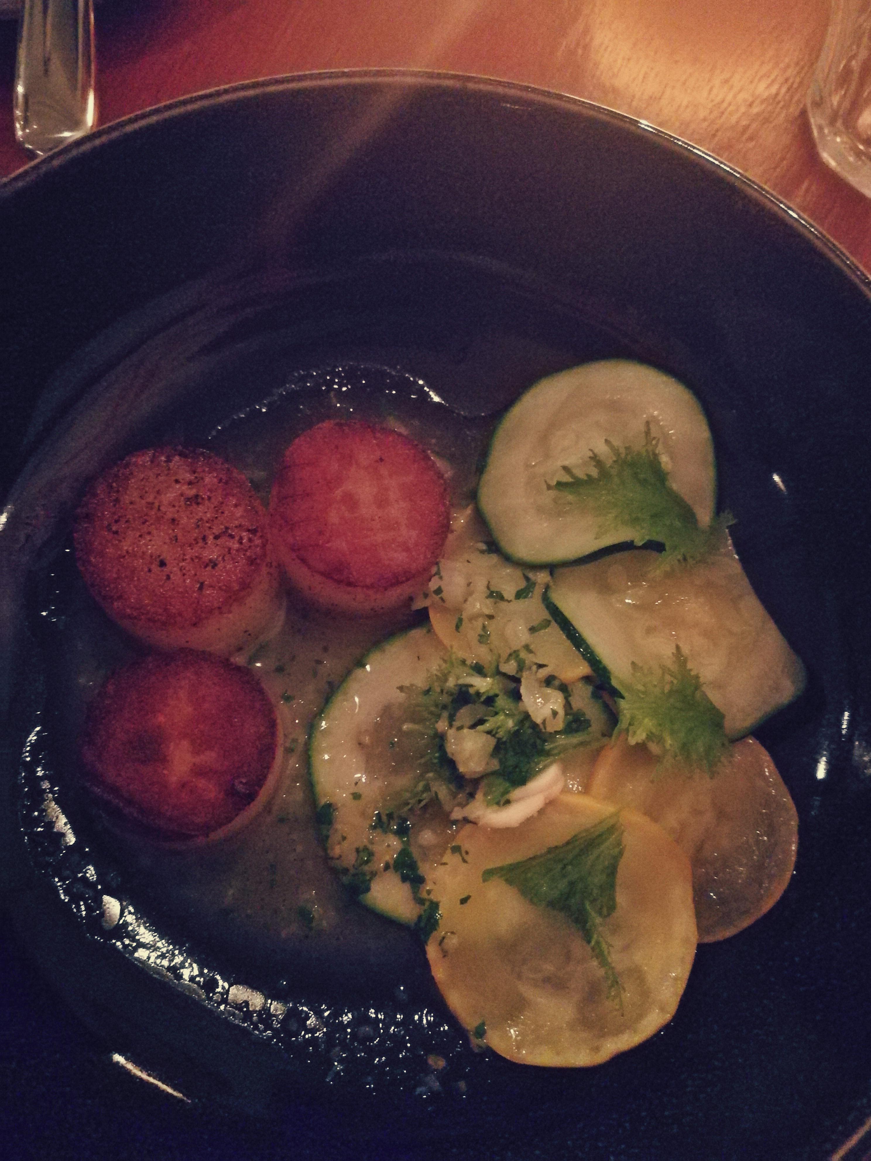 Krumplikrokett és egy kis zöld