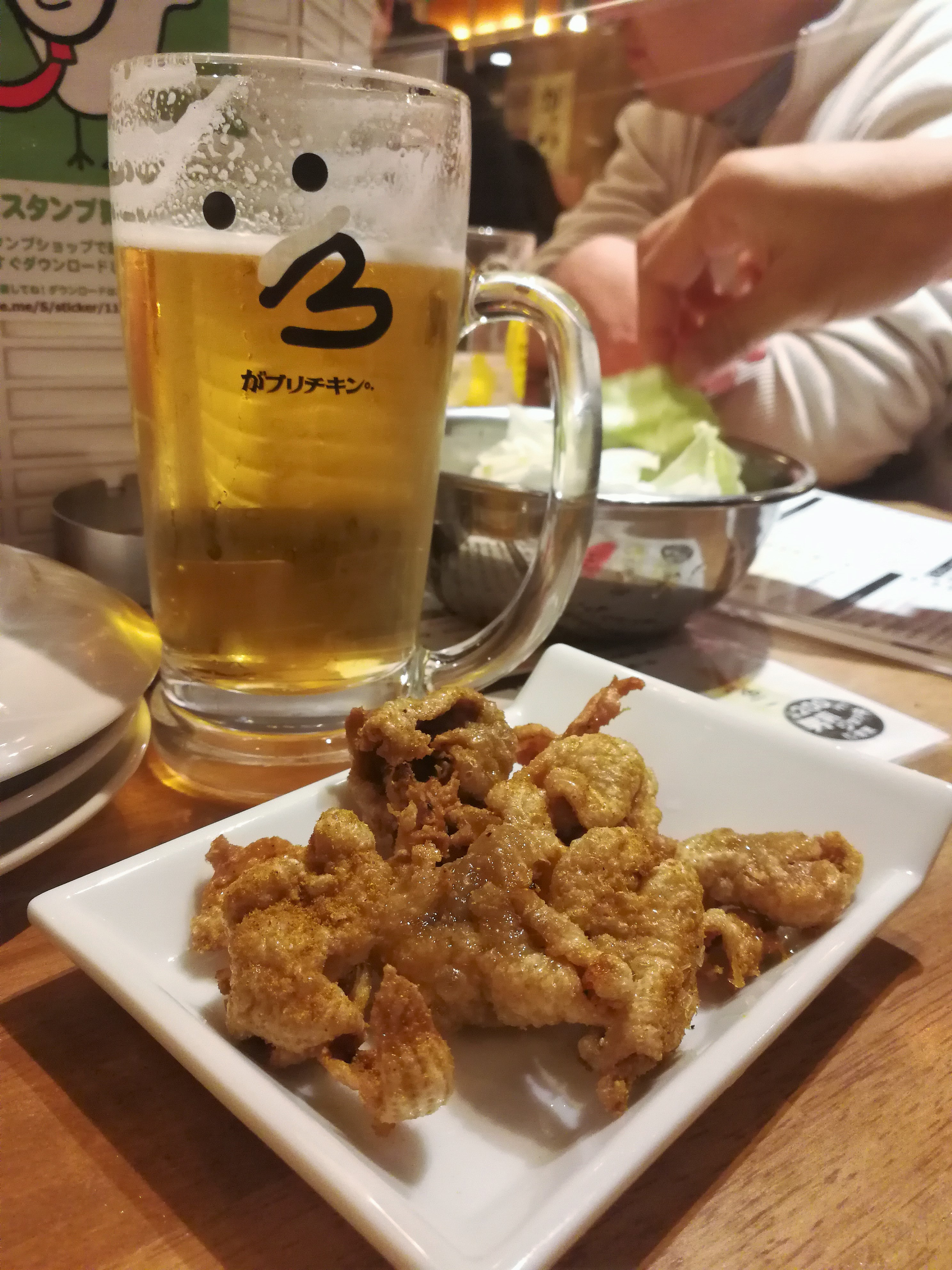 Csirketöpörtyű és sör