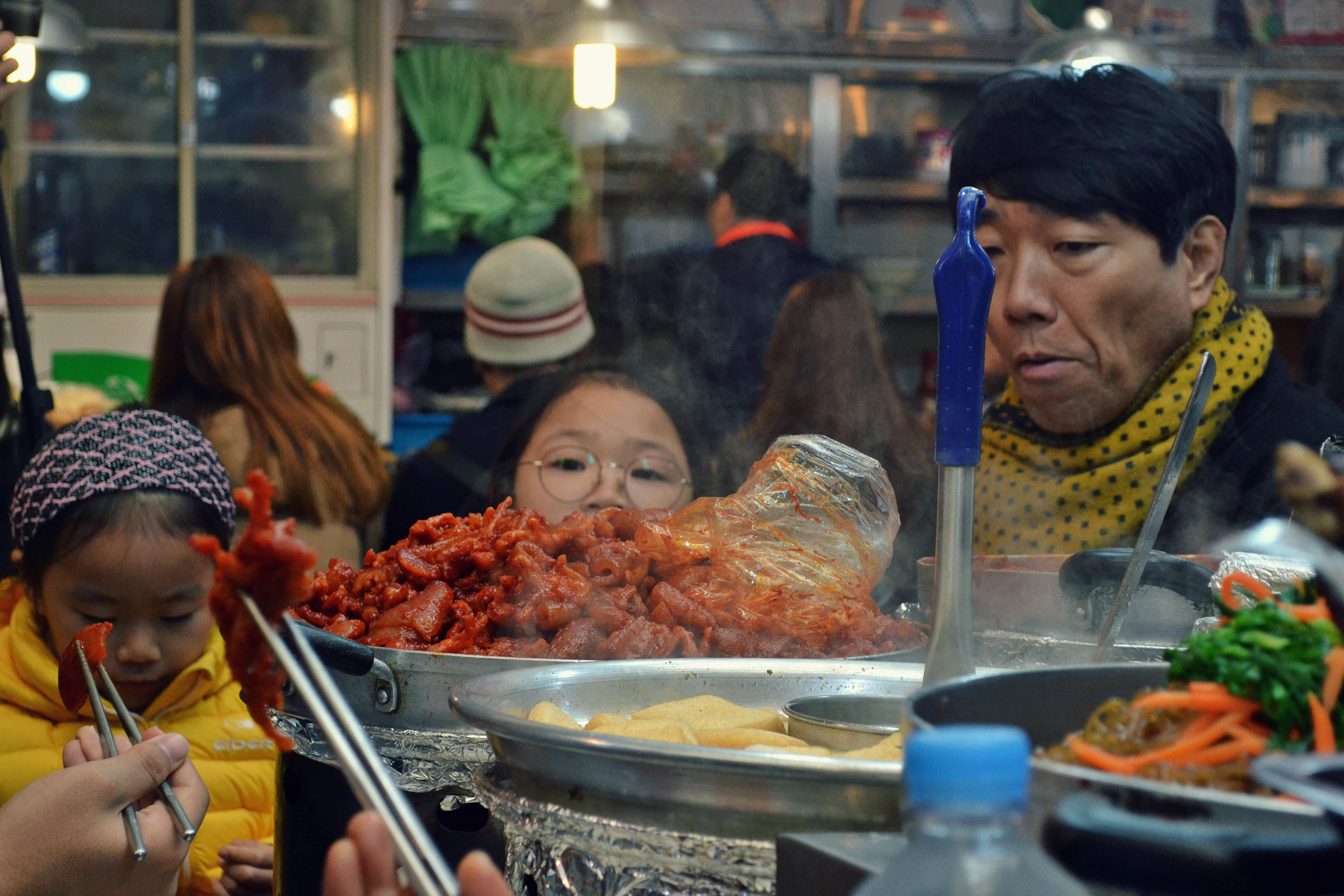 Családi ebéd ahogy a Csihiró Szellemországban is láttuk