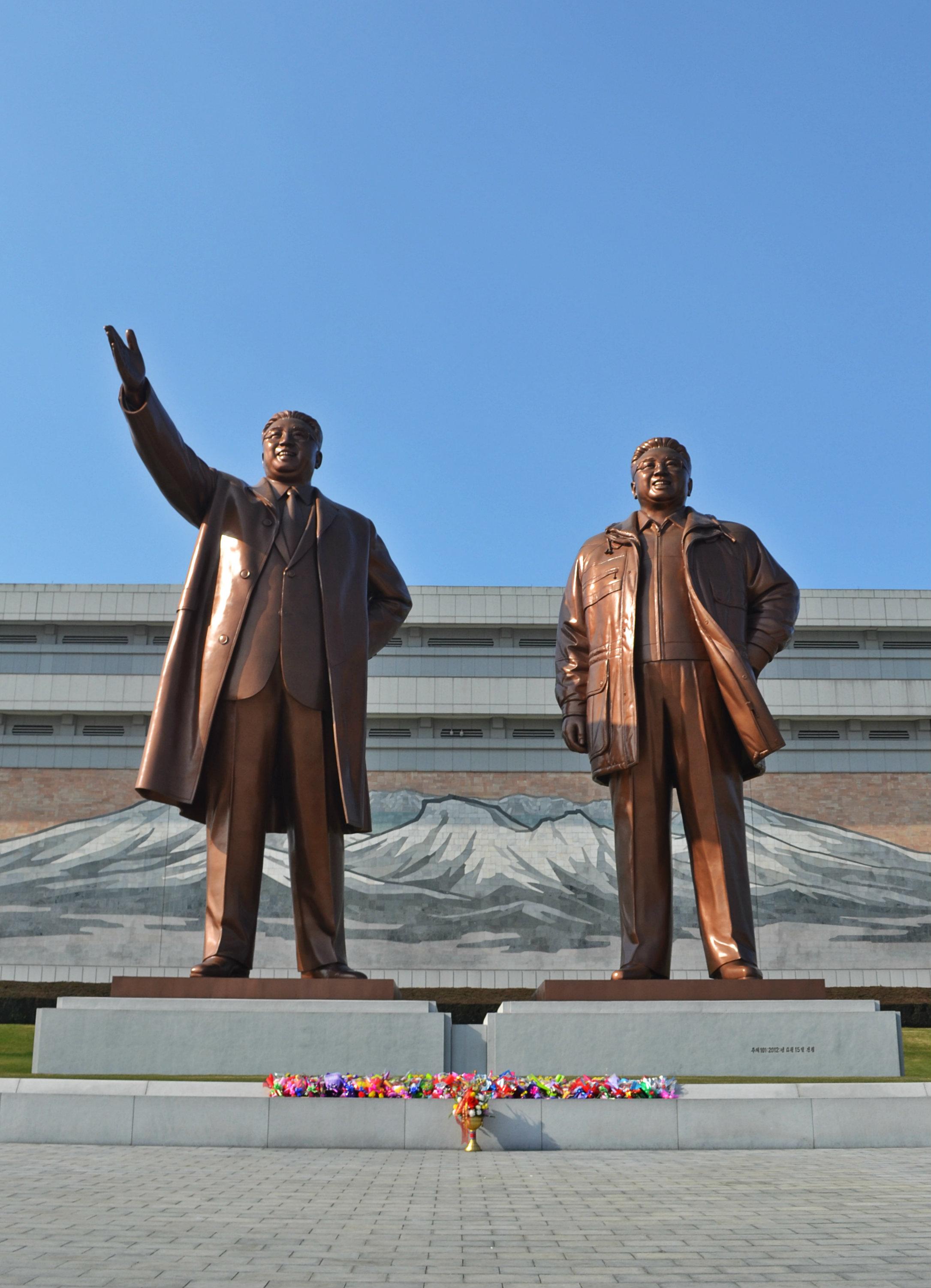 Erősen idealizált szobrok