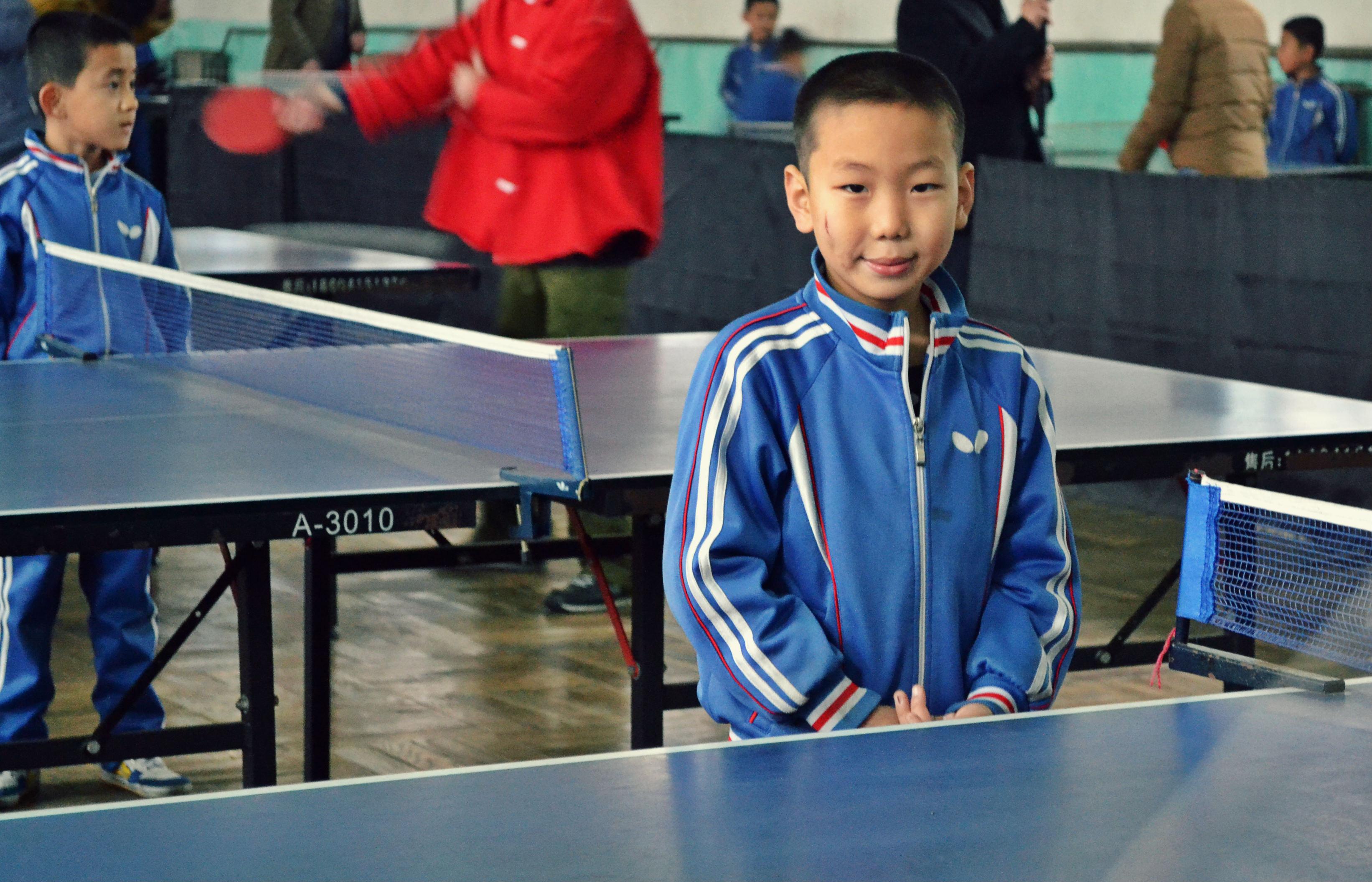 Sportbemutató, lealáztak pingpongban a hétévesek