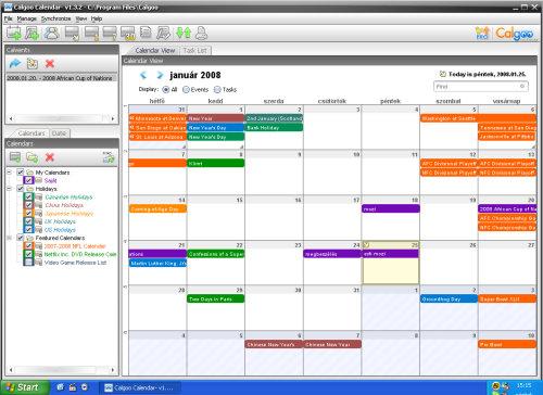heti naptár készítő program Naptárprogramok, kalendáriumok tesztje   Mi leszek, ha nagy leszek? heti naptár készítő program