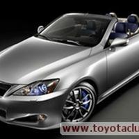 2011-ben jöhet a Lexus IS-F kabrió
