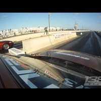Összetört Toyota Suprák egy amerikai gyorsulási versenyen