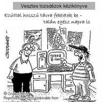 Tőzsdei karikatúrák