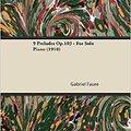 ?BEST? 9 Préludes Op.103 - For Solo Piano (1910). Politica partner venido access Cientos forman