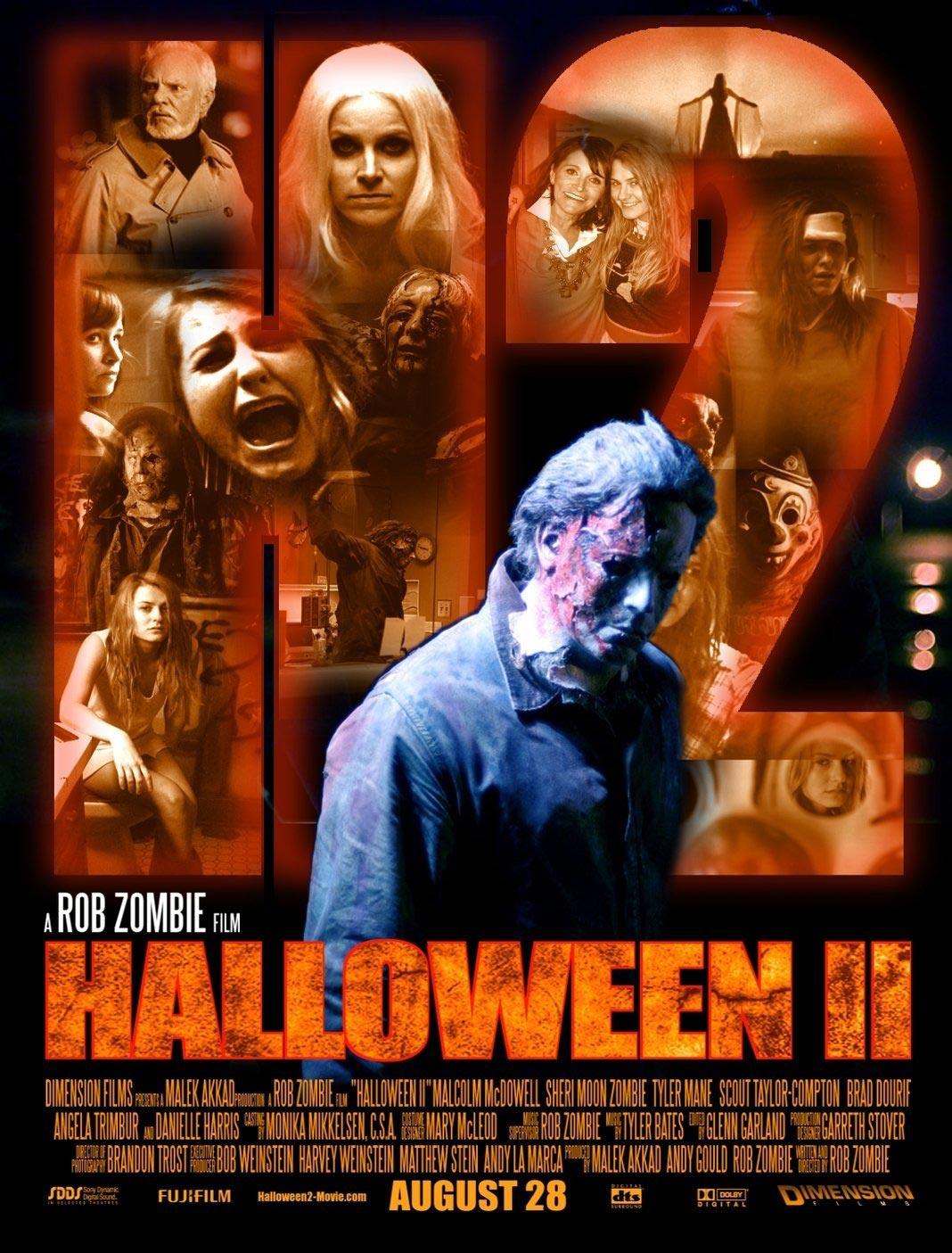 Rob Zombie Halloween I Ii 2007 2009 Filmrajongo