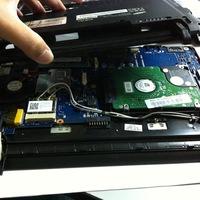 Laptop diagnosztikája a szervizben
