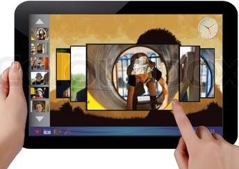 tablet érintőkijelző csere - laptop szerviz