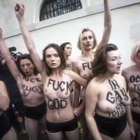 A FEMEN sötét és antikrisztusi
