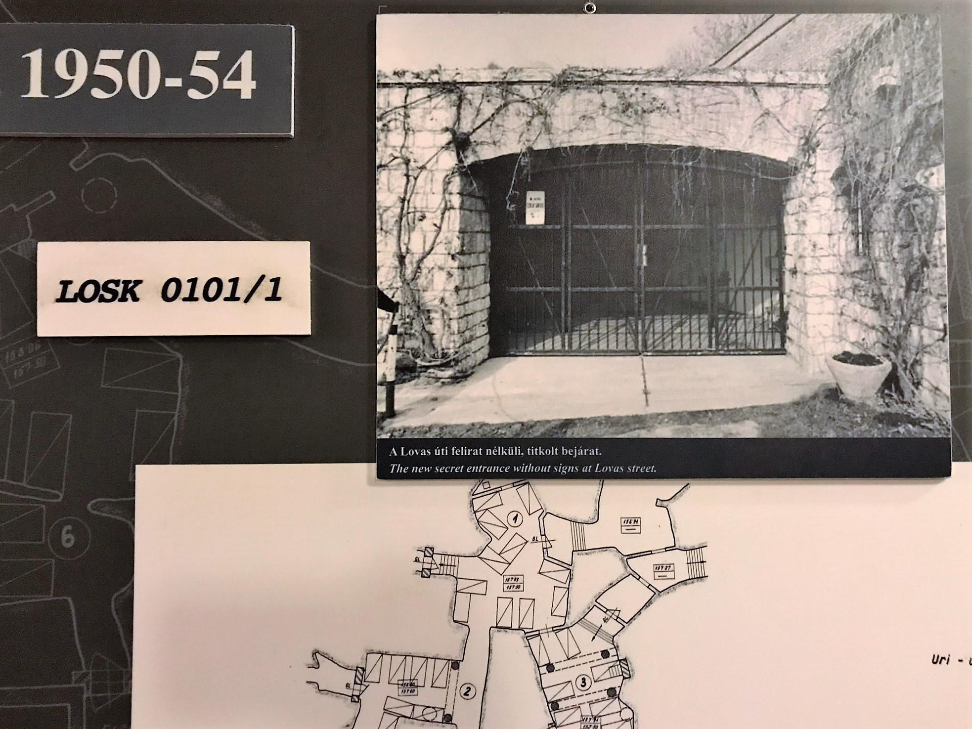 """A hidegháború alatt LOSK 0101/1 jelzéssel """"szigorúan titkos objektumként"""" működött az intézmény, amely egy esetleges nukleáris támadás során atombunkerként szolgált volna."""