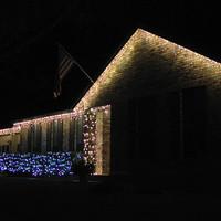Karácsonyi fényár Austinban