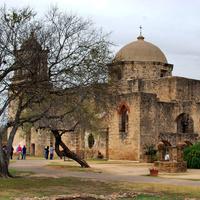 Missziós templomok a San Antonio folyó mentén