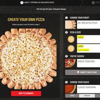 A Pizza Hut új csodája, a hotdogos pizza...