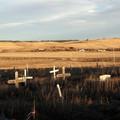 Fehér zászló Wounded Knee felett
