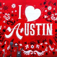 Ikonikus graffitik Austinban