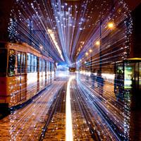 Idén is jár a karácsonyi fényvillamos/Christmas Tram in Budapest