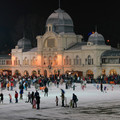 Európa legöregebb műjégpályája, a Városligeti Műjégpálya/Europe's oldest Ice Rink in the City Park Budapest
