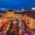 Forralt bor és mézeskalács illat Pozsonyban/Mulled wine and gingerbread scent in Bratislava