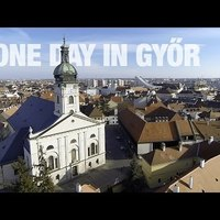 Egy nap Győrben/The city of Győr, Hungary-video