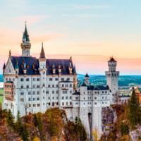 A csodálatos Neuschwanstein kastély és környéke/The breathtaking Neuschwanstein castle