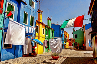 Színes helyek a világban-Burano/Colourful places in the world-Burano