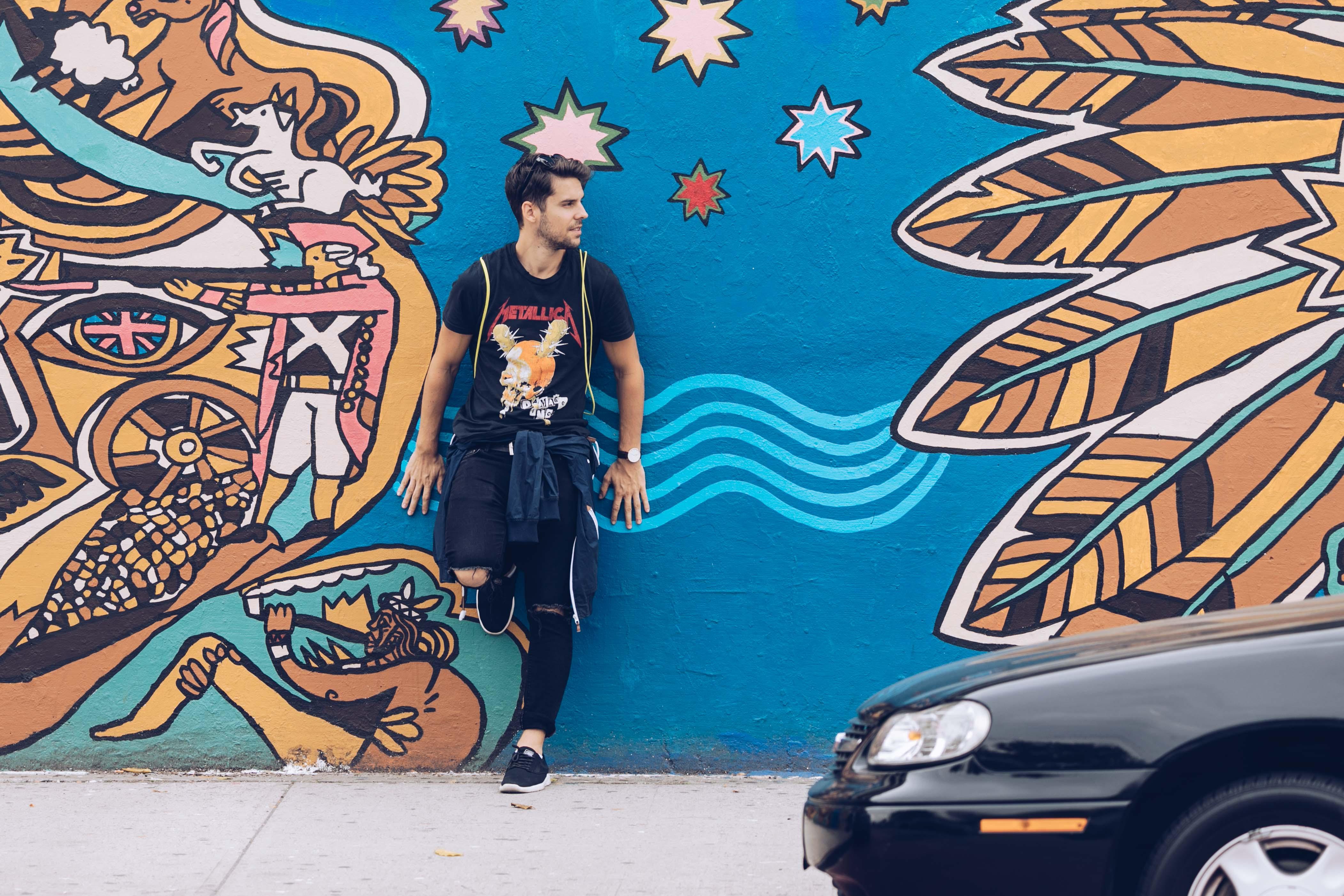 Brooklynban rengeteg a falfestés, érdemes körbenézni