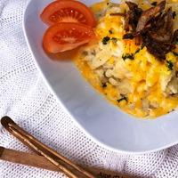 A síszezon kedvence: pikáns sörös-cheddar sajtos osztrák nokedli