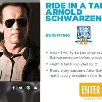 Schwarzenegger: tankkal a fenntarthatóságért