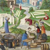 Mosás a középkorban