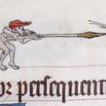 Vérnyúl, harci csiga, péniszfa – zavarba ejtő képek középkori kéziratokon