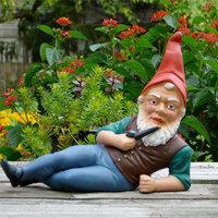 Apró, szakállas díszítőelem, a kertitörpe