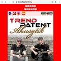 TREND PATENT - Akusztik lemez és új honlap