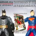 Batman v Superman nyereményjáték a Fantasmaniával!