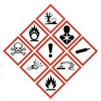 A veszélyt jelző piktogramok bemutatása