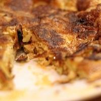 A bocadillo de tortilla hiteles tortenete