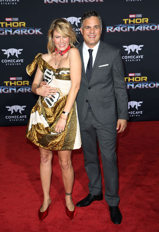 Mark Ruffalo és felesége, Sunrise Coigney