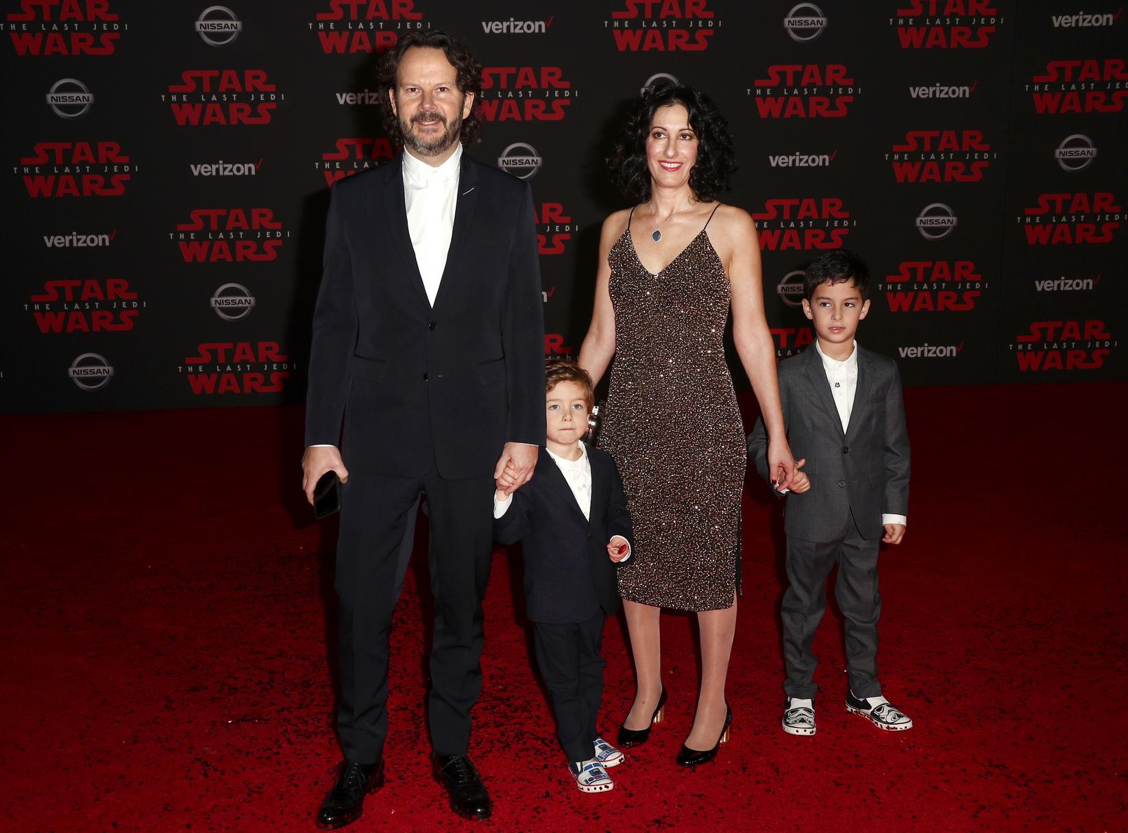 Ram Bergman és a családja